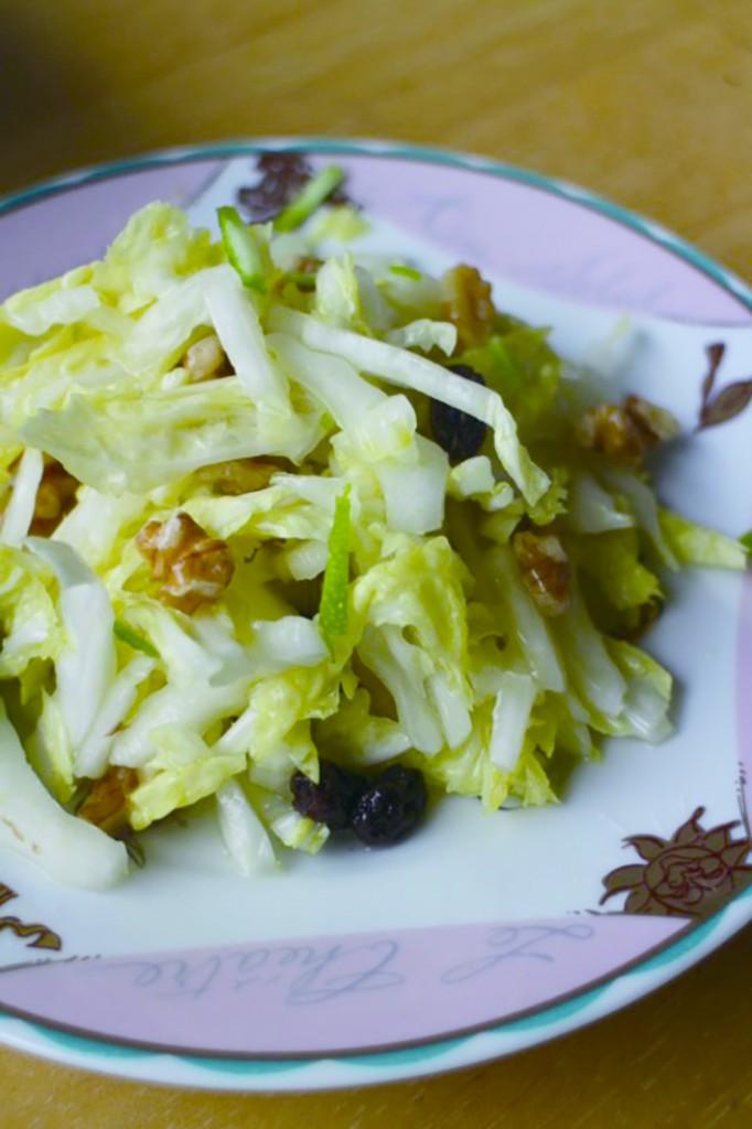 2白菜サラダ