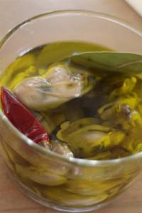牡蠣のオリーブオイル漬け2 のコピー